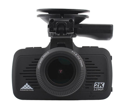 "Mini 2.7"" A7 Full HD 2K 170 Degree Dash Cam with GPS Night Vision G-sensor WDR LDWS"