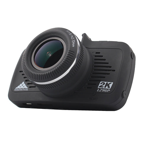 "Mini 2.7"" A7 Full HD 2K 170 Degree Dash Cam with GPS Night Vision G-Sensor"