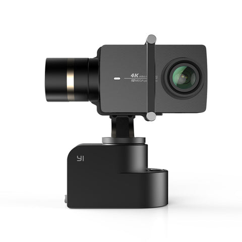 YI Handheld Gimbal Set With YI 4K Action Camera and Selfie Stick & Bluetooth Remote