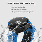H2 0.96inch IP68 Waterproof Smart Wristband Fitness Bracelet - Red * Teamyo Smart Watch - Periwinkle Online