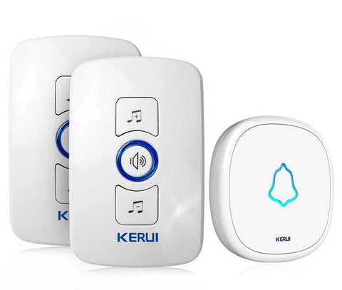 Free Shipping | 32 Songs Optional Waterproof Touch Button Smart Home Intelligent Wireless Doorbell Kerui - iWynx