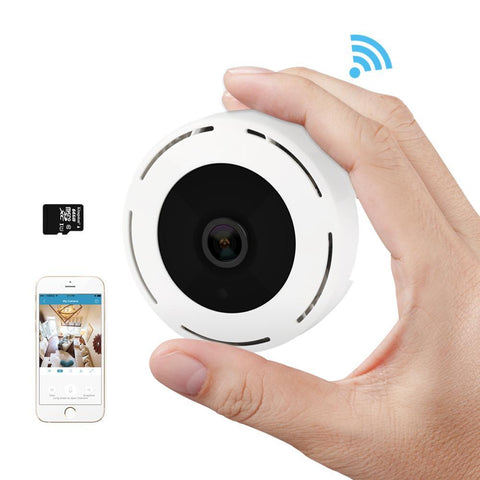 MISECU 360 degree Fisheye IP Wireless Camera Audio Onvif P2P Motion email alert Night Vision IR