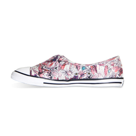 Converse All Star Women Sneakers Summer Canvas Shoes 552923C - Low (Flower) * Converse Skateboarding Shoes - Periwinkle Online
