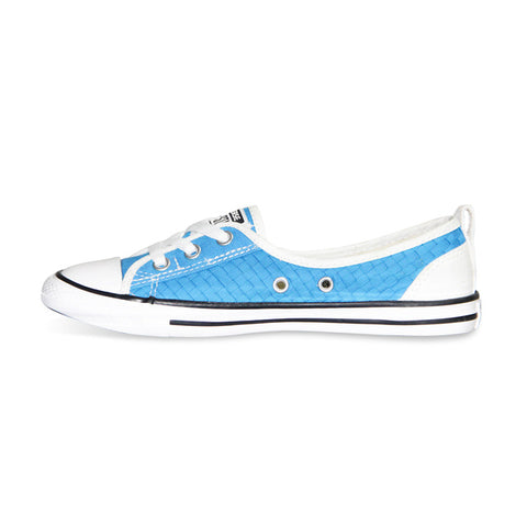 Converse All Star Women Sneakers Summer Canvas Shoes 552923C - Low (Blue)