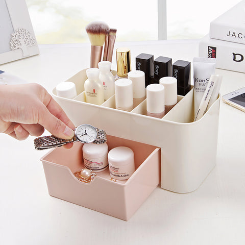 Cosmetic Jewelry Office Storage Organizer Drawer