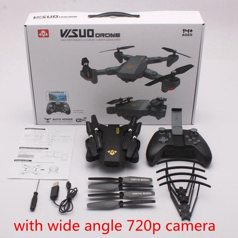 Xs809 Foldable Drone With Camera Wifi FPV Quadcopter