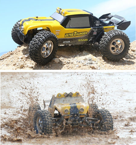 HBX 12891 Thruster 40km/h 1:12 2.4GHz 4CH Drift Remote Control Car Desert Off-road High Speed