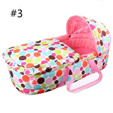High Quality Portable Safety Bassinet Basket Travel Bed 0-7 month * Other Baby Portable Bed / Crib - Periwinkle Online
