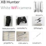 X8 Hunter RC FPV Quadcopter Camera Drone 2.4G 4 Axis