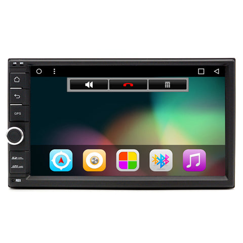 "2 Din Android 6.0 7""1024*600 Universal GPS Navigation BT autoradio Stereo Audio Player Junsun AliExpress - Periwinkle Online"