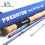 Maximumcatch 9FT 9wt /10wt 4 Section 30T SK Carbon Fly Fishing Rod with  Cordura Rod Tube * MaximumCatch Fishing Rod - Periwinkle Online