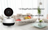 NIP-61GE Home Security IP Camera Wi-Fi 720P Wireless  Wifi 720P Night Vision CCTV Camera Baby Monitor * IHomeCam IP Camera System - Periwinkle Online