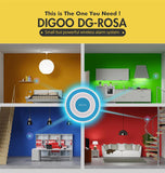 DG-ROSA 433MHz Wireless DIY Multi-function Home Security Alarm Systems * Digoo Motion Sensor Alarm - Periwinkle Online