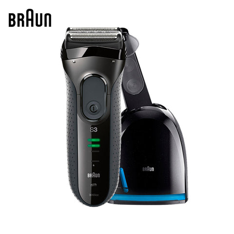 Electric Shavers 3050cc Washable Reciprocating Blades Automatic Cleaning