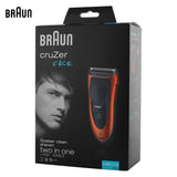 Electric Shavers Cruzer 40 Face Care Washable Razors For Men Shaving Safety Razors * Braun Grooming - Periwinkle Online