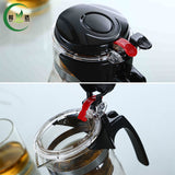 Style A*500ml Glass Teapot With Filter Glass Tea Kettle Teaset Oolong Tea Teapot * LI DA Coffee and Tea - Periwinkle Online