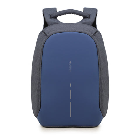 XD Design Backpack Compact Anti-theft Design Bag|Security Backpack (Navy)