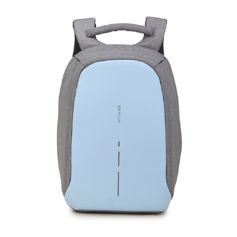 XD Design Backpack Compact Anti-theft Design Bag|Security Backpack (Blue)