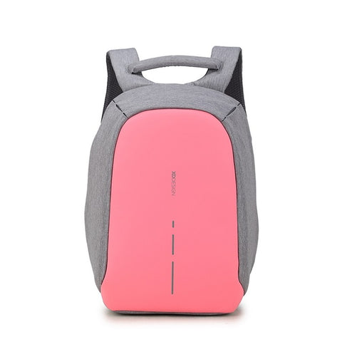 XD Design Backpack Compact Anti-theft Design Bag|Security Backpack (Pink)
