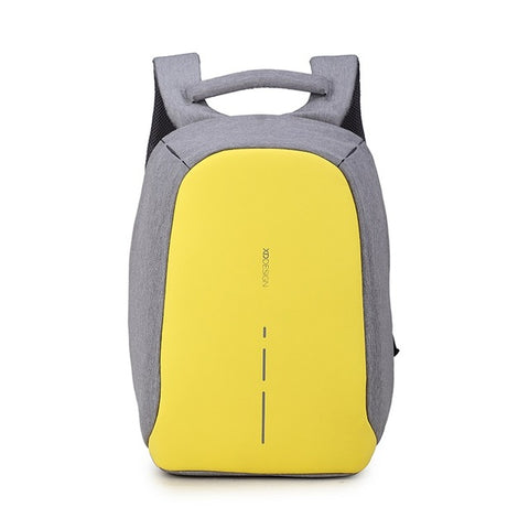 XD Design Backpack Compact Anti-theft Design Bag|Security Backpack (Yellow)