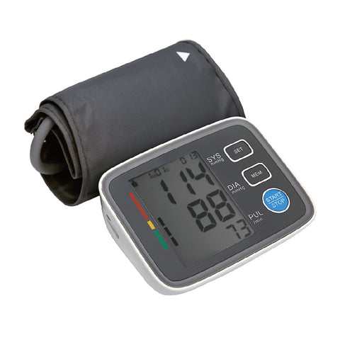 Arm Blood Pressure Monitor Automatic Upper Cuff Digital BP Monitor Yongrow - Periwinkle Online