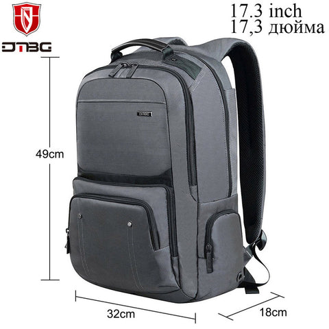 DTBG 15.6 17.3 Inch Backpack Anti-theft Unisex Notebooks Laptop Bags * DTBG Laptop Bag - Periwinkle Online