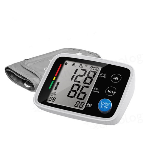 Digital Upper Portable Blood Pressure Monitor Sphygmomanometer