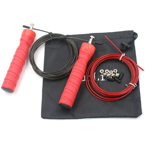 Skipping Rope+Spare Rope&Screw Metal Bearing Anti Skid Handle Ultra Speed Cable * JJunLim Skip Hop Rope - Periwinkle Online