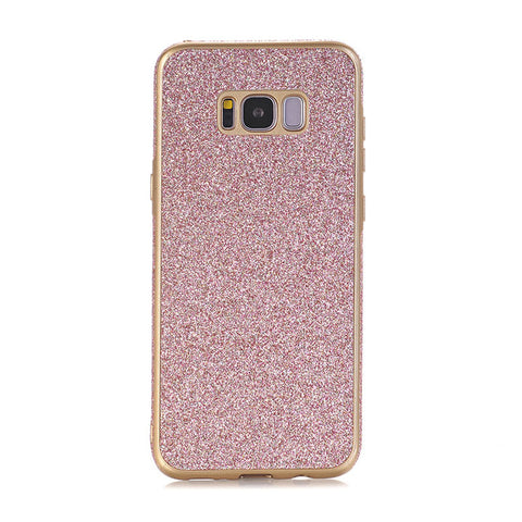 Bling Silicone Back Cover TPU Soft Case For Samsung Galaxy A3 A5 A7 J1 J3 J5 J7 S7 edge S8 Plus Effelon - Periwinkle Online