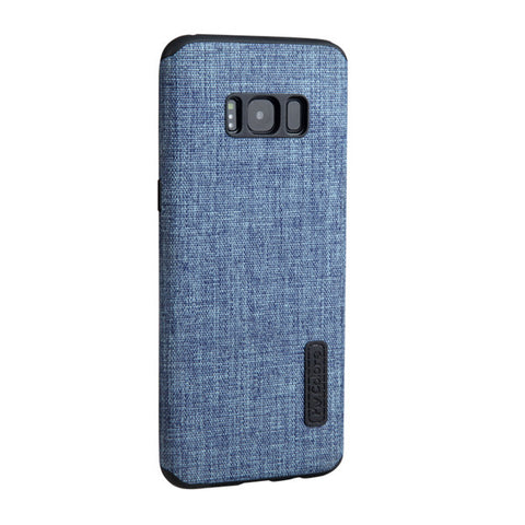 High quality Non-slip Case for Samsung Galaxy S8 luxury Cloth+TPU material back soft case * My Colors Mobile Phone Accessories - Periwinkle Online