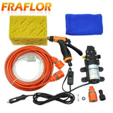 High Pressure Self-priming Electric Car Washer Water Pump 12V Cigarette Lighter * Fraflor Car Washer Pump - Periwinkle Online