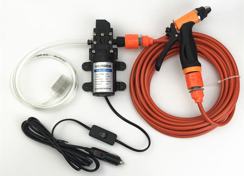 High Pressure Self-priming Electric Car Washer Water Pump 12V Cigarette Lighter