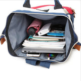 Anello Ring Large Rucksack Unisex Backpack (White) Anello AliExpress - Periwinkle Online