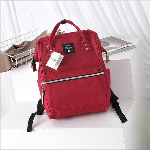 Anello Ring Large Rucksack Unisex Backpack (Red) Anello AliExpress - Periwinkle Online