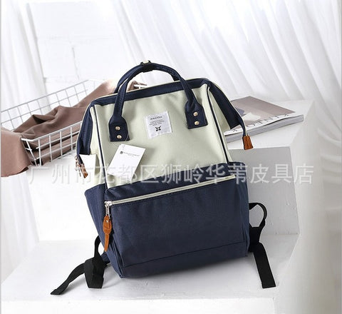 Anello Ring Large Rucksack Unisex Backpack (Deep Blue) Anello AliExpress - Periwinkle Online