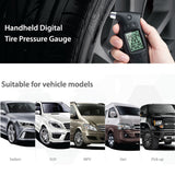 Steelmate Tire Pressure Gauge TC-01 Handheld Digital LCD Display Diagnostic Tool * Steelmate Tire Pressure Monitor - Periwinkle Online