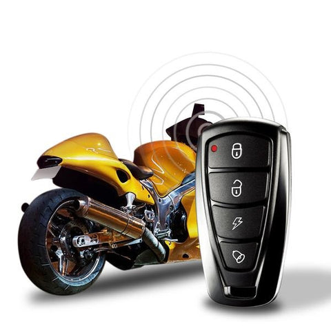 Steelmate 986F 1 Way Motorcycle Alarm Anti-theft Security System Engine Immobilization