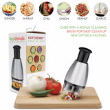 Stainless Steel Vegetable Chopper and Mincer