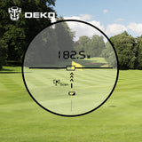Laser Rangefinder Golf Hunting Measure Digital Monocular * DekoPro Range Finder - Periwinkle Online