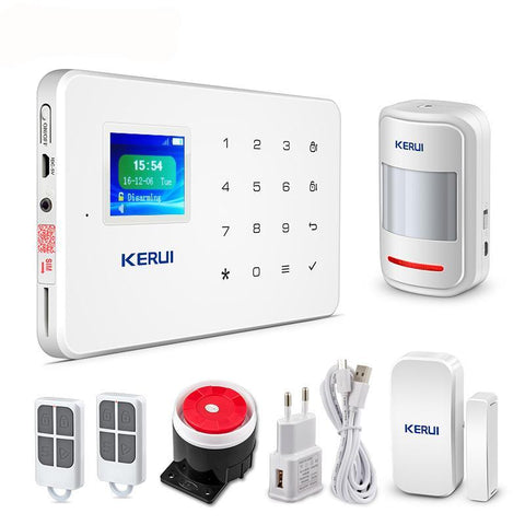 G18 TFT Touch GSM Wireless IOS/Android APP Control Home Burglar Security Protection Alarm System