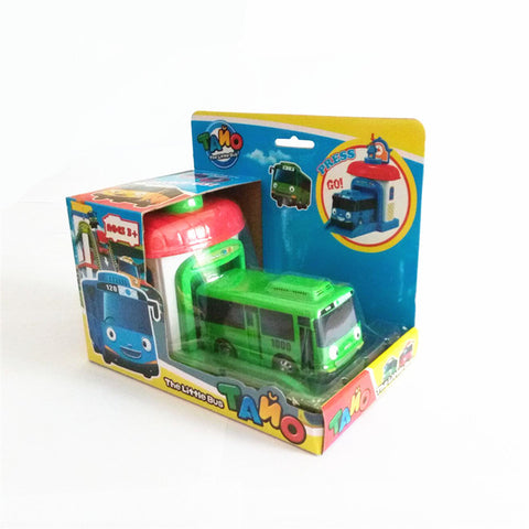 Tayo Little Bus Model with Garage