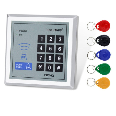 Keypad With Keys - RFID Keypad Door Access Control System