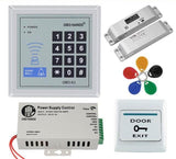 Electric Drop Lock - RFID Keypad Door Access Control System (Kit 2)