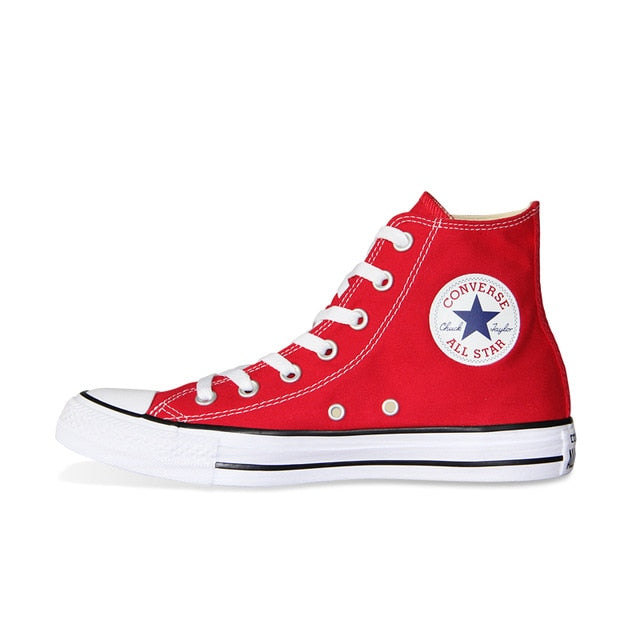 4bfb00934bcf Original Converse All Star High-Top Casual Classic Sneakers -  RedConverseThe Chuck Taylor All Star is the most iconic sneaker in the  world