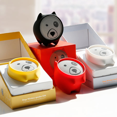E06 Dogz Bluetooth Portable Mini Speaker
