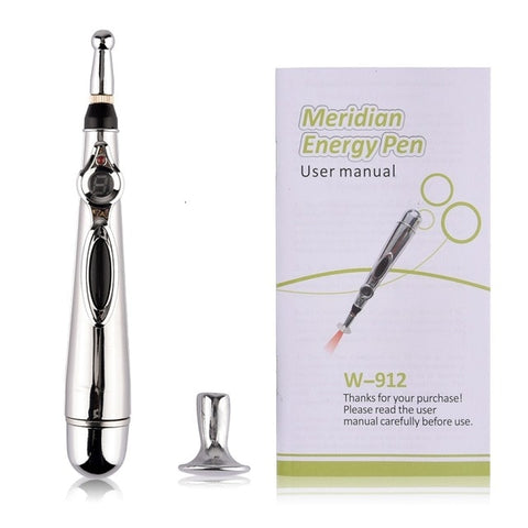 Meridian Energy Pain Relief Electric Acupuncture Magnet Therapy Pen 103641