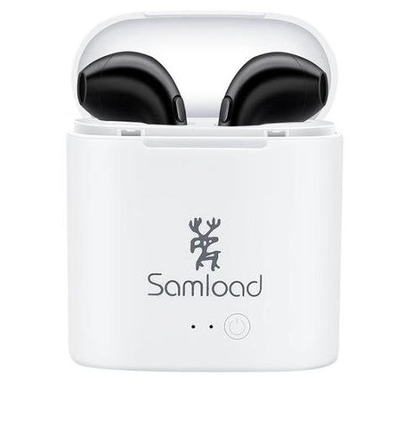 Samload Bluetooth Wireless Headset Double Twins Stereo Music