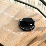 ILIFE A6 Robotic Vacuum Cleaner with Piano Black Mini-room Function