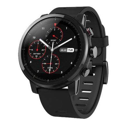 Xiaomi Huami Amazfit Waterproof Smartwatch With GPS PPG Heart Rate Monitor 5ATM