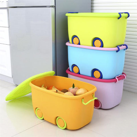 Stackable Latch Box Storage Containers Plastic Bins